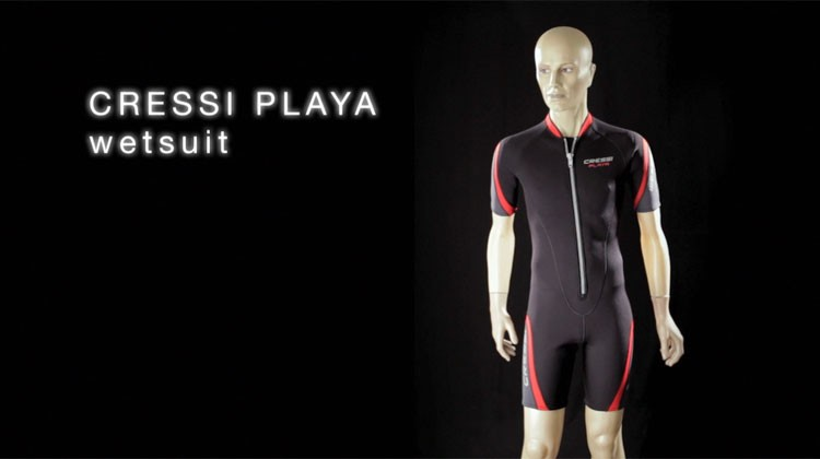 Play video Playa wetsuit