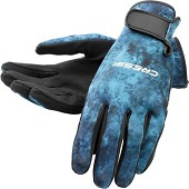 Blue Hunter Gloves