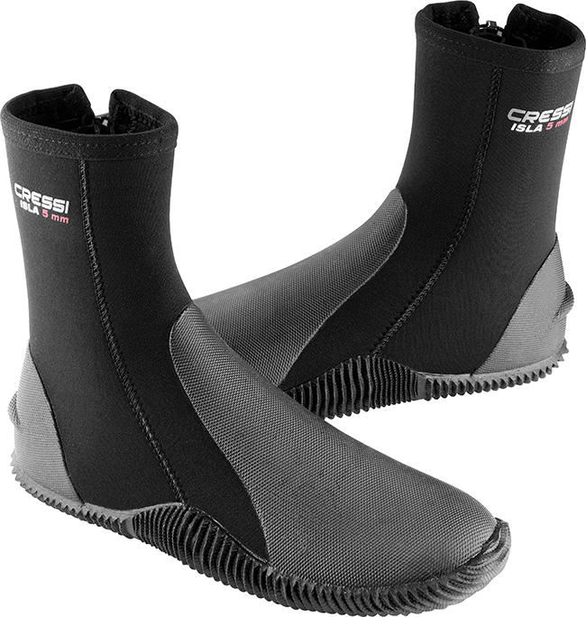 Cressi Wetsuits Wetsuits Boots With Sole Soft 3 5 7 Mm