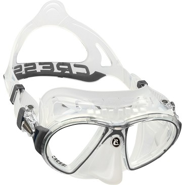 Made and Designed in Italy Cressi Adult Pinocchio Mask for Scuba Diving and Freediving