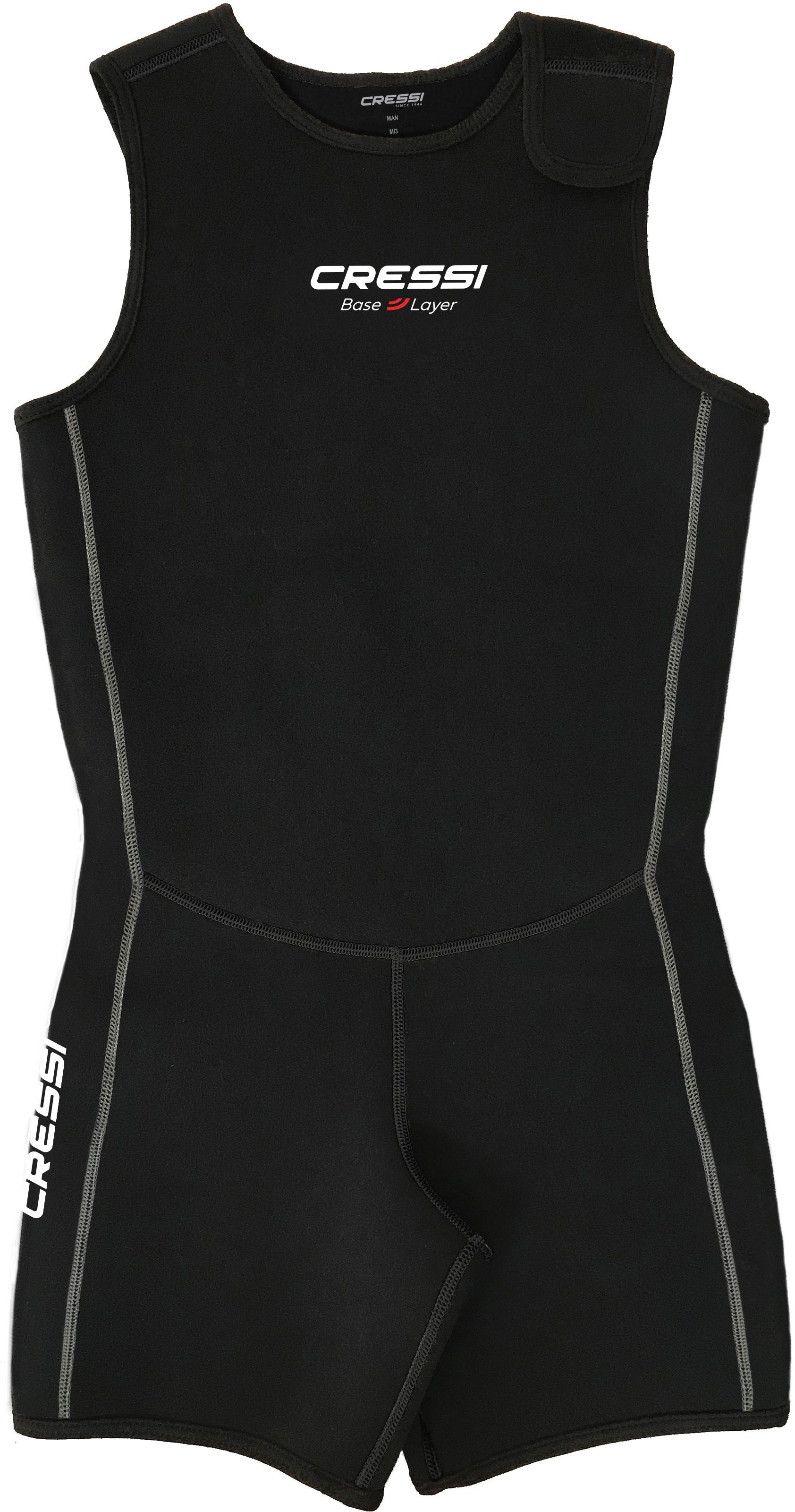 Base Layer Short Vest woman