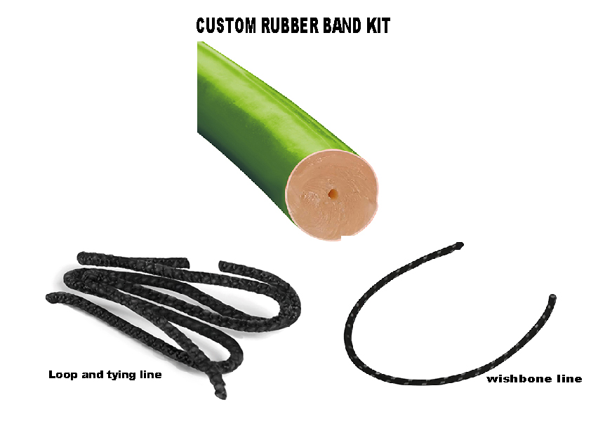 Custom Rubber Band Kit Ø16