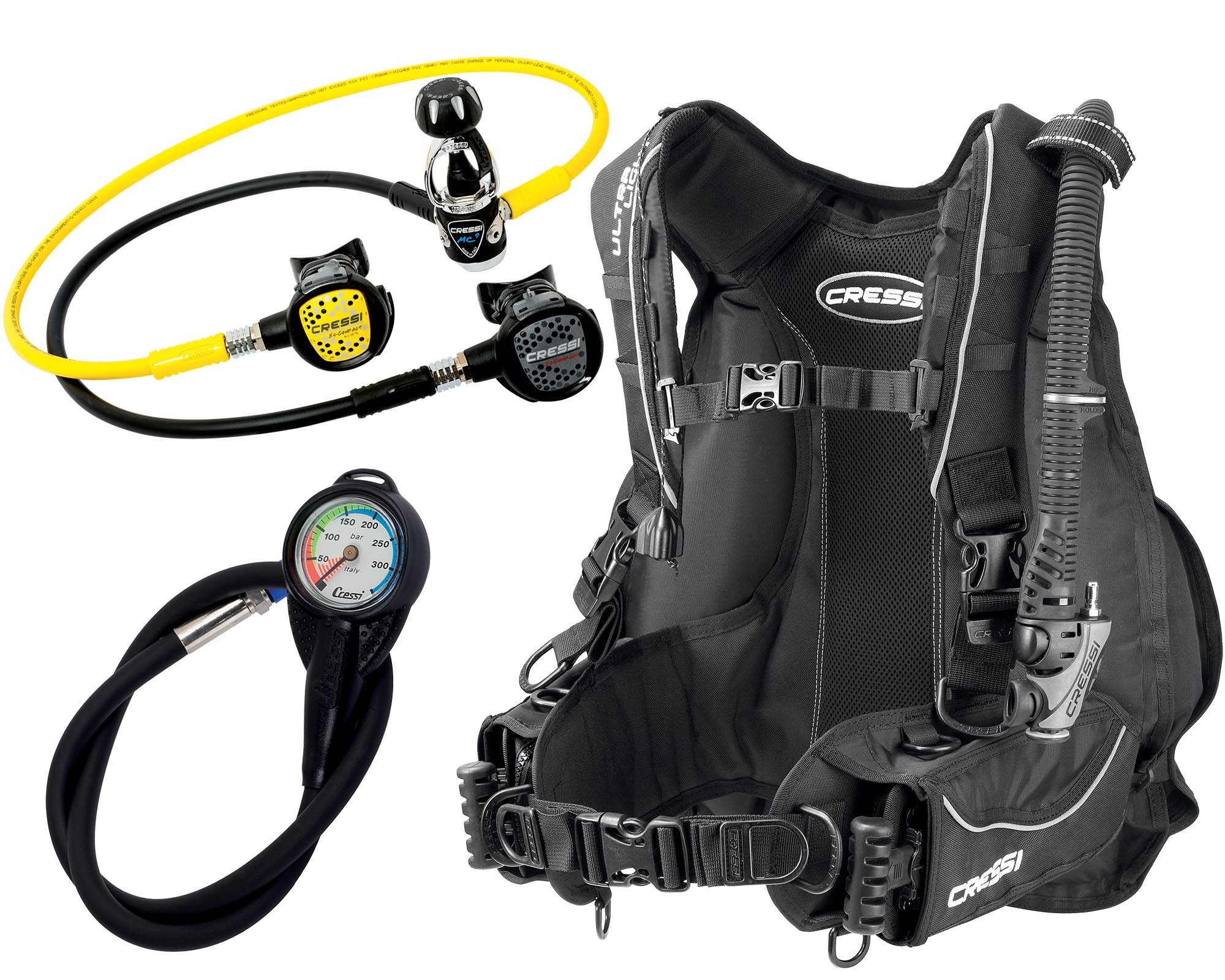 Travel Scuba Set
