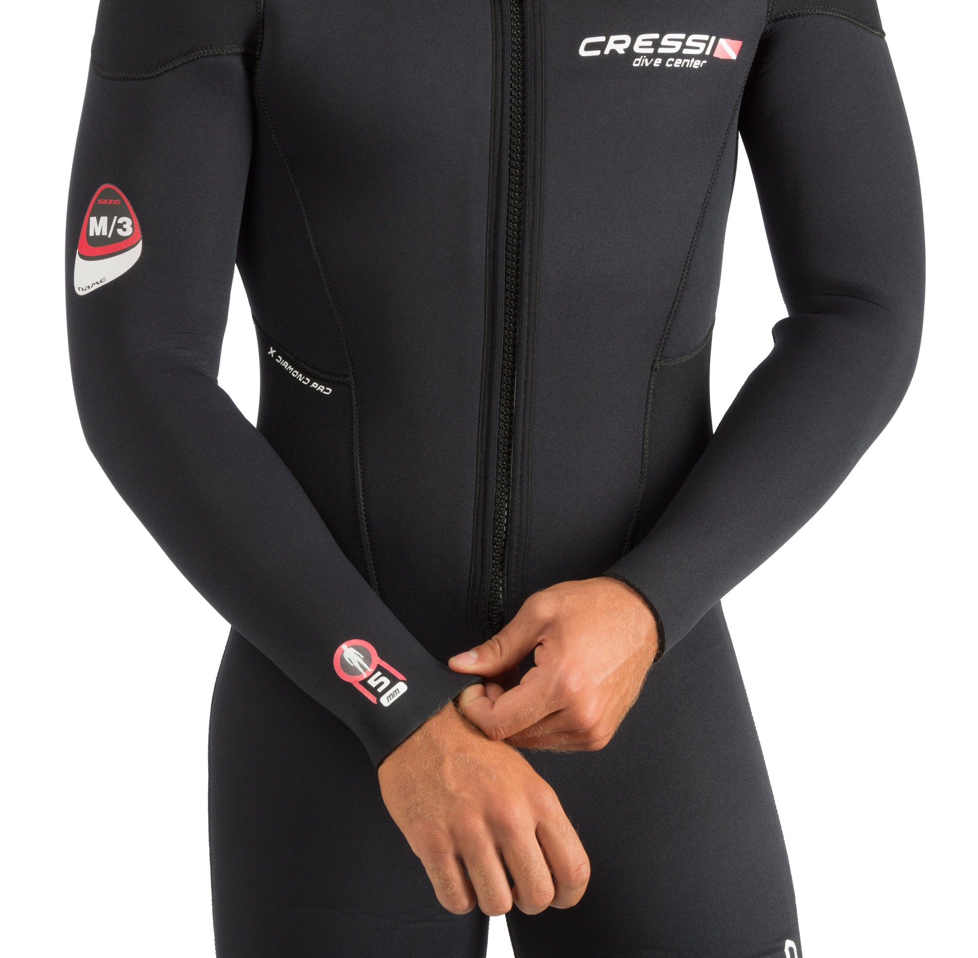 ENDURANCE Man Wetsuit one piece 5 mm