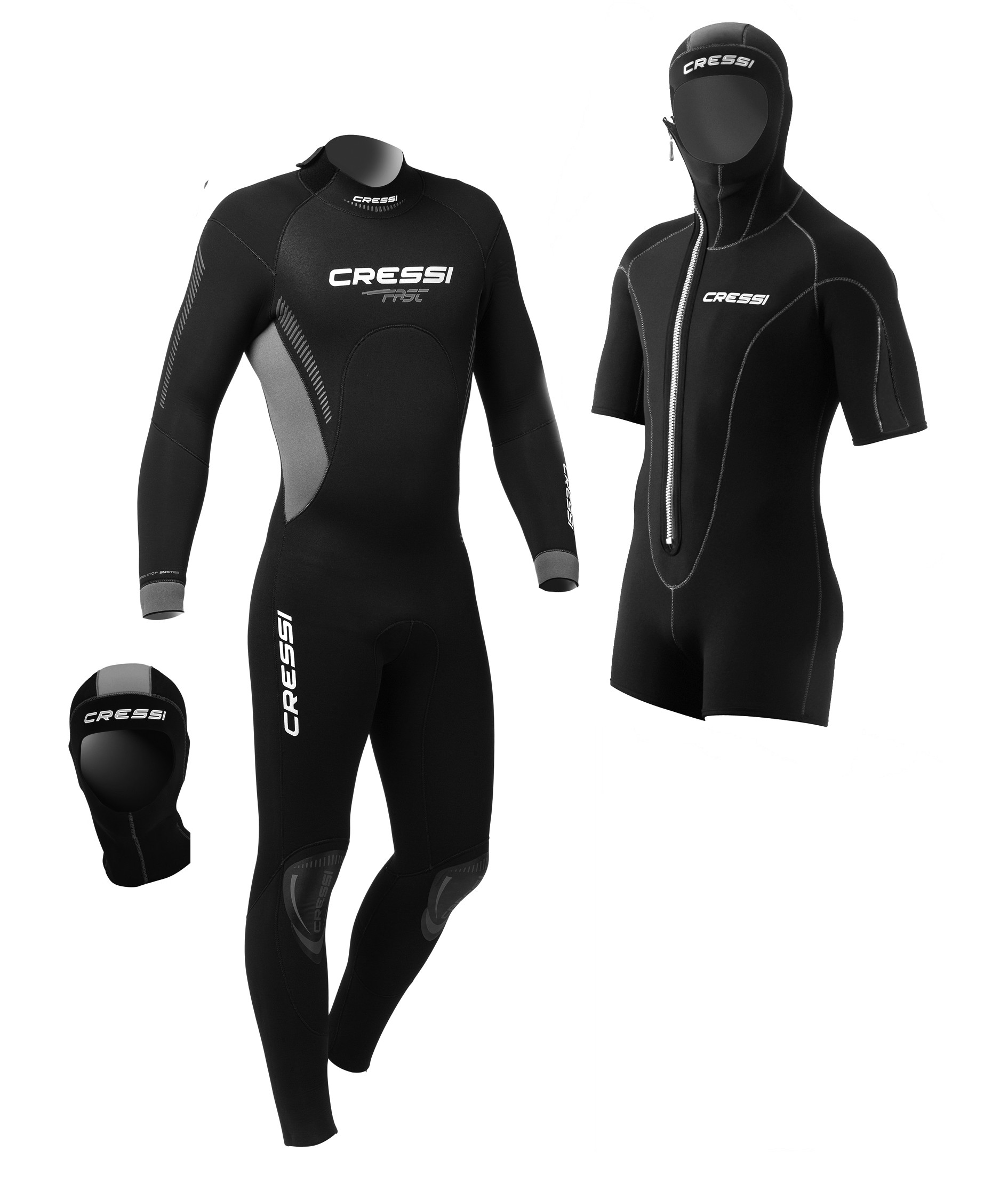 FAST Man Wetsuit 5 mm