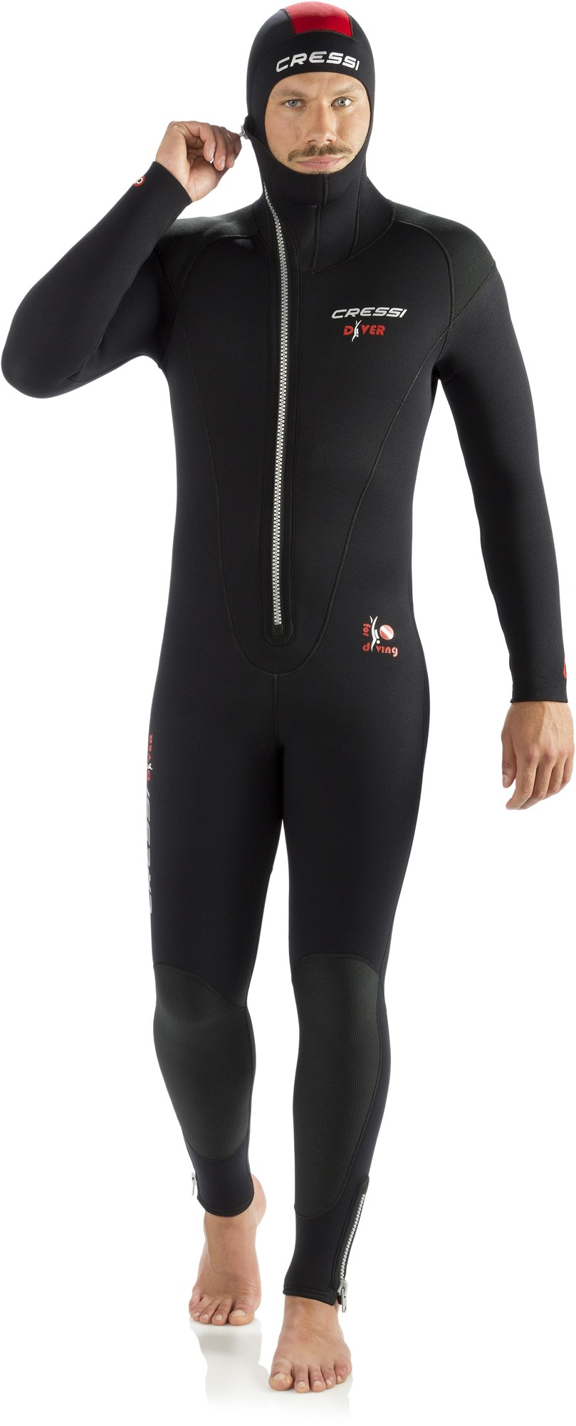 Diver wetsuit man 5 or 7 mm