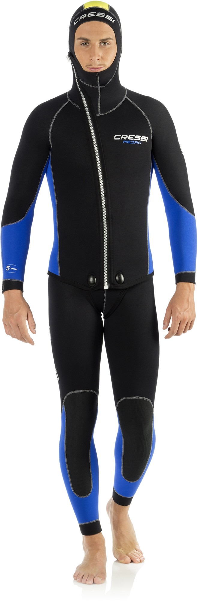 Suit Two Cressi 5 Mm Front Piece Neoprene Wetsuits W2YH9IED